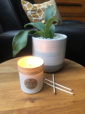 Green Planet Luxury Fragrance Candle