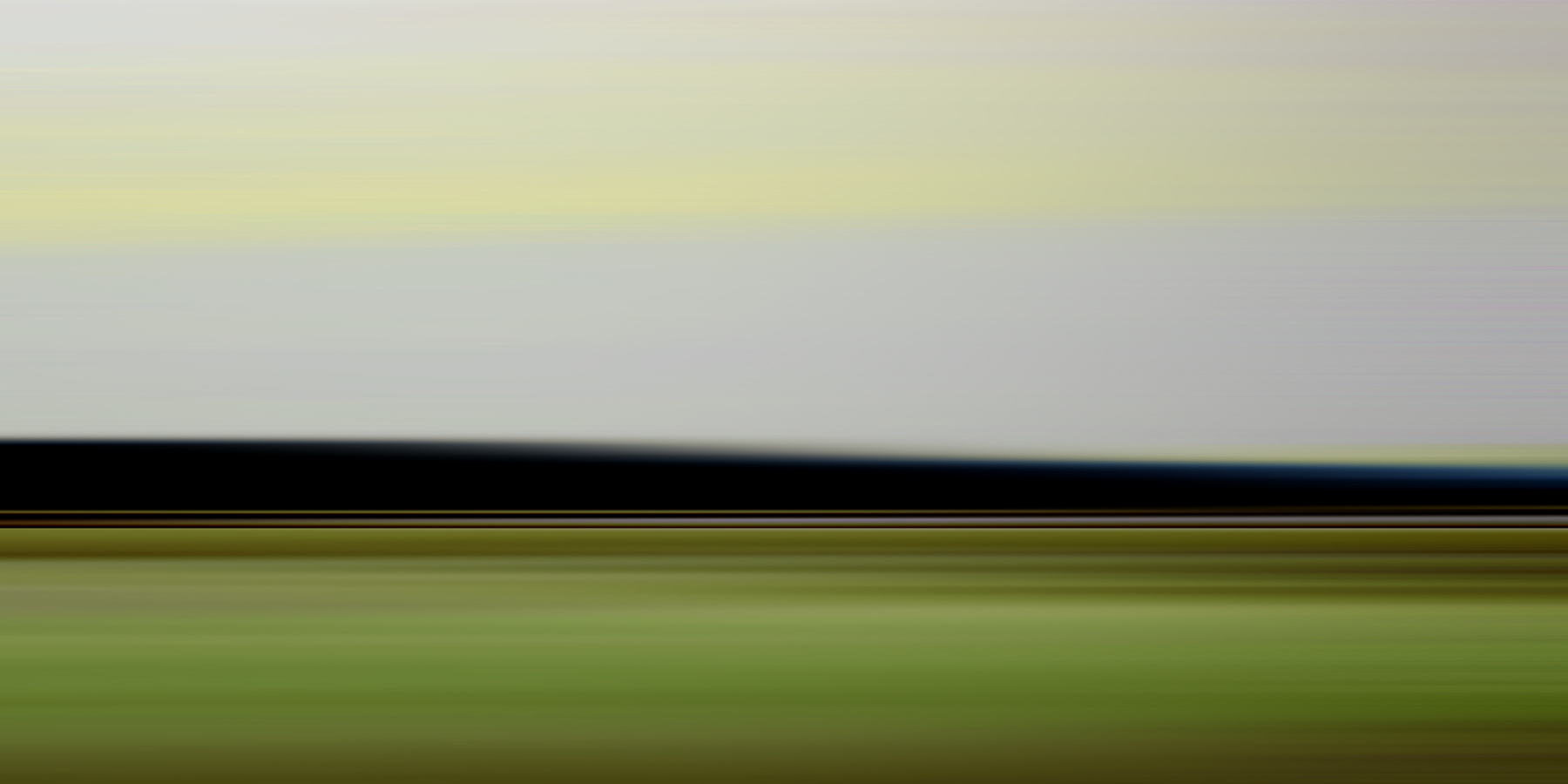 Green Field at Dusk