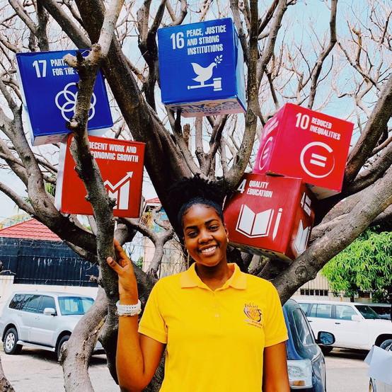 UNDP Meetup - Gabby + SDG Tree.jpeg