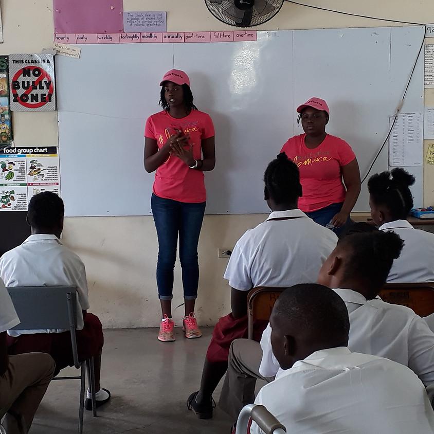 #BullyFreeJamaica School Tour