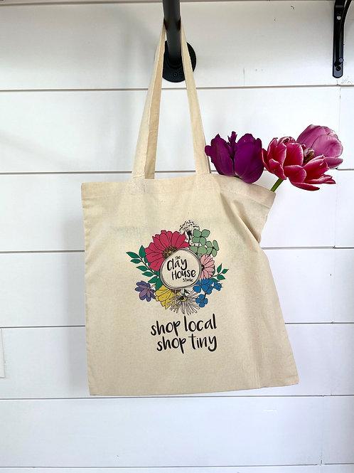 Tiny Shop Tote Bag
