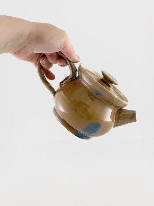 Personal Teapot - Prussian Crystalline