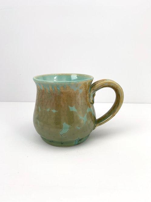 Classic Mug - Copper Green Crystalline