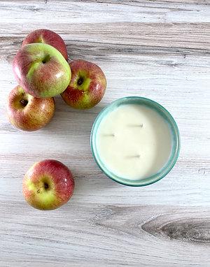 Apple Cider Donut Candle Bowl