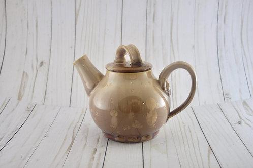 Mocha Crystalline Teapot