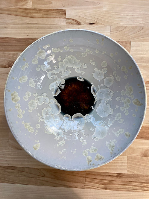 Bowl - Ivory Crystalline
