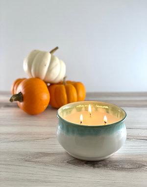 Pumpkin Pie Candle Bowl