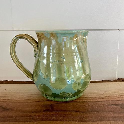 Pitcher - Copper Green
