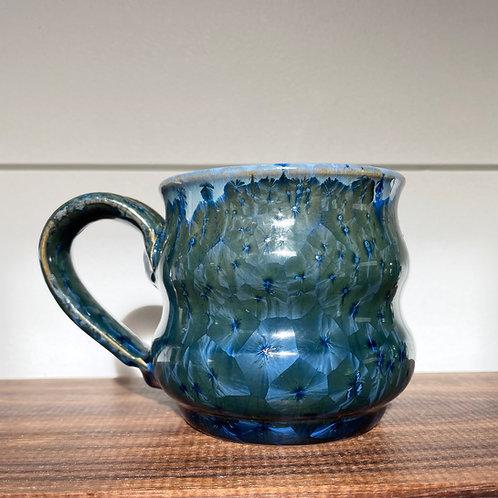 Bubble Mug - Navy Crystalline