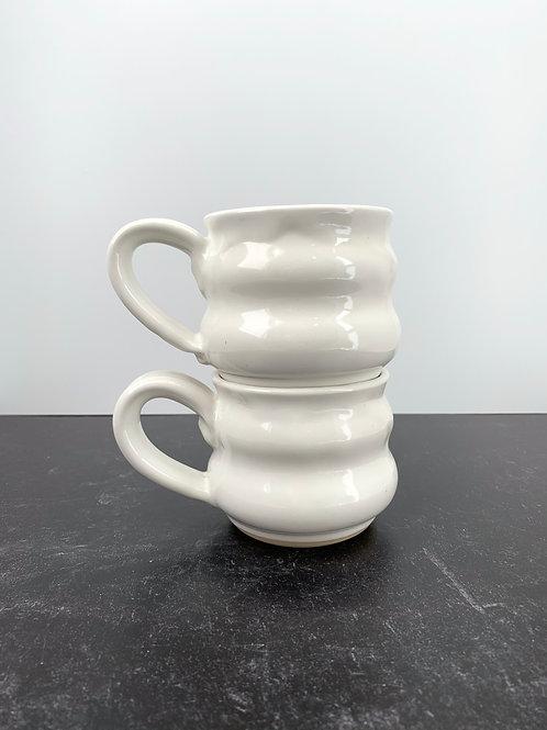 Bubble Mug - White