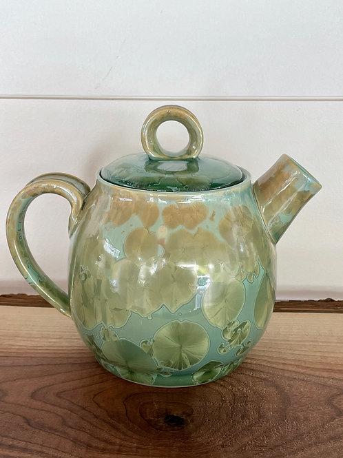 Teapot - Copper Green
