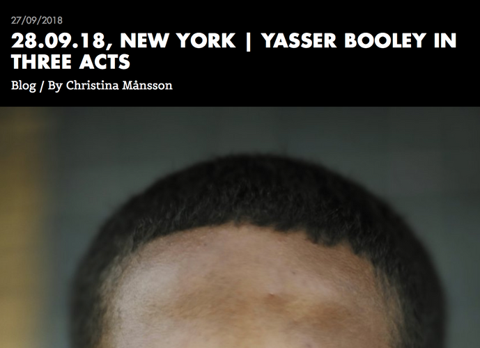 Three Acts- with Yasser Booley