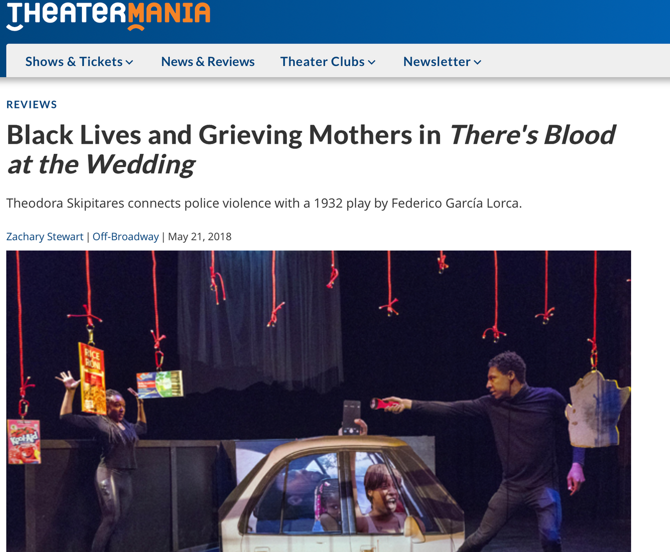 Theatermania Review