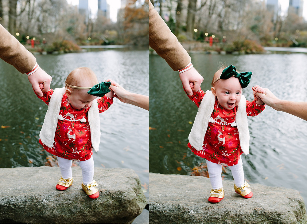 Fall Family Photo Session, Central Park, NYC, Gaptstow Bridge, New York City Family Photography, baby, toddler, New York City Family Photographer