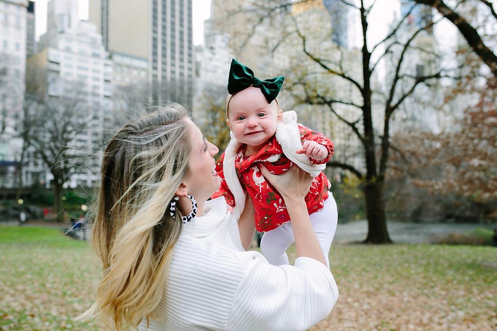 Fall Family Photo Session, Central Park, NYC, Gaptstow Bridge, New York City Family Photography, New York City Family Photographer, baby, toddler, mom, family