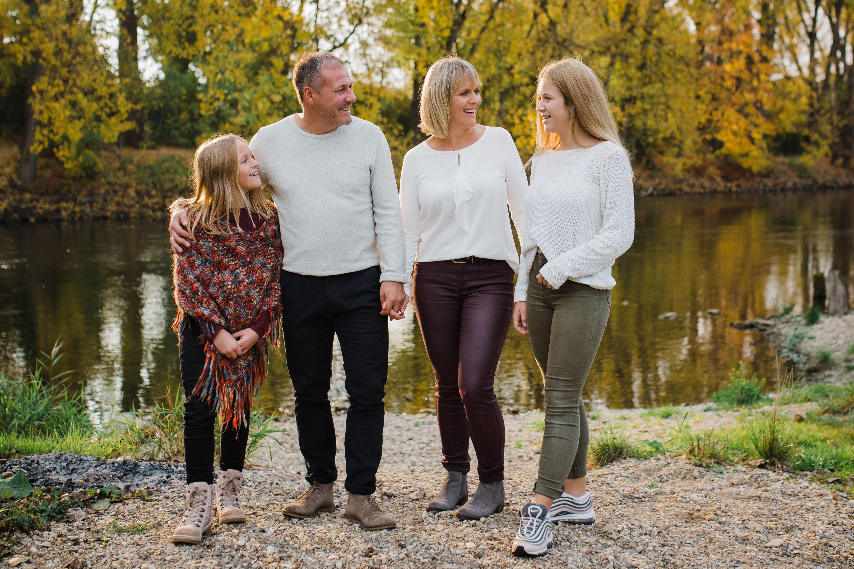 Fotoshooting für Familien mit Kindern
