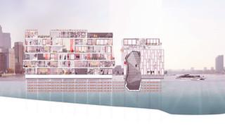 LACUNA Fashion Island: Nouha's Masters of Architecture project