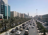Riyadh, King Fahd Road - Photograph Ammar Shaker