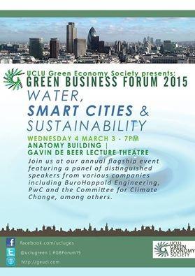 Green Business Forum 2015 - UCL, London