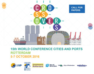 Rapporteur, Committee Member and Track Chair 15th World Conference Cities and Ports - Rotterdam, 5-7