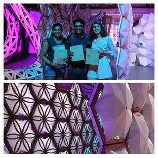 Nouha and her team win First Prize at International Fabrication Festival