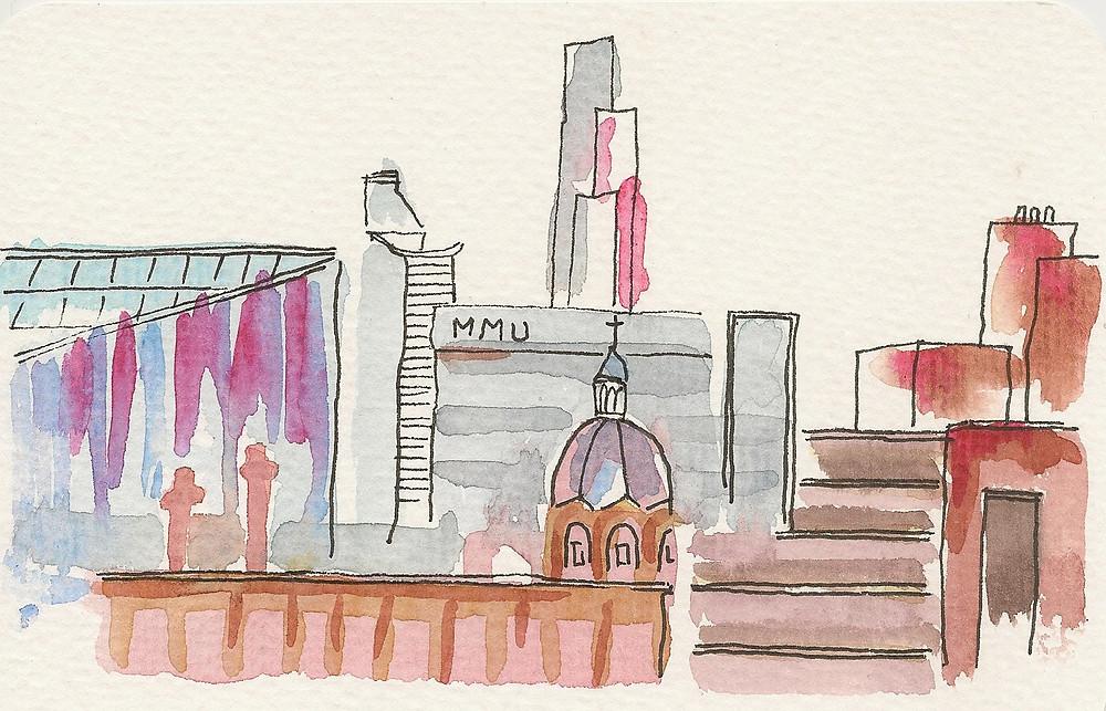 Nouha Hansen View from MMU School of Art