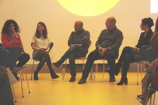 Roudaina Al Khani participated in a panel debate on the Politics of Architecture