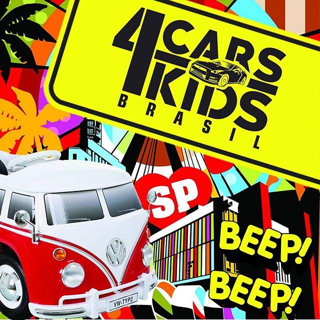 A CARS4KIDS Brasil ® já tem datas marcadas pra chegar em SP_🙈🙊 CARS4KIDS Brasil, diversão & segura