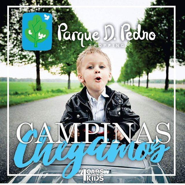 Chegamos no Shopping Parque Dom Pedro de Campinas - SP__Já inauguramos e estamos com 7 modelos exclu