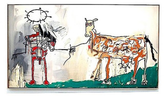 Покупателем, не оплатившим на Christie's картину Баскиа, оказался коллекционер Хосе Муграби