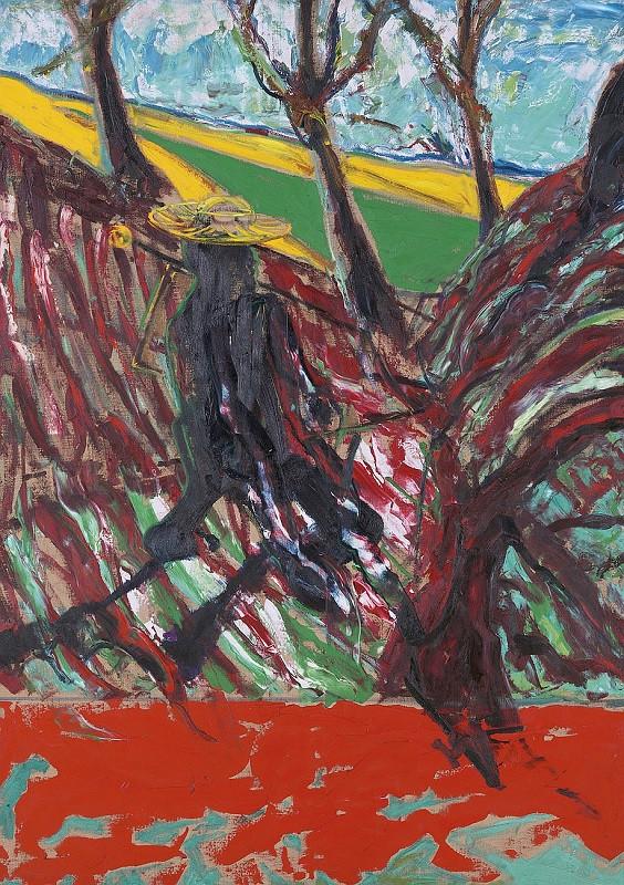 Френсис Бэкон. Этюд к портрету Ван Гога. 1957. The estate of Francis Bacon, DACS 2016