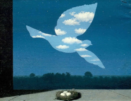 Рене Магритт, «Возвращение». Брюссель, Музей Рене Магритта