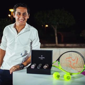 Теннисист Николас Альмагро стал послом роскошных швейцарских часов LE RHONE
