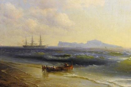 «Море у острова Капри» Айвазовского