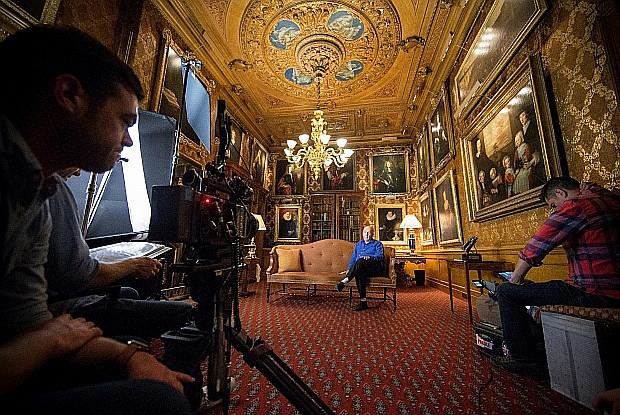 Sotheby's будет снимать собственные фильмы о музеях. Первым станет 13-серийный фильм о Чатсуорт-Хаусе и коллекции герцога Девонширского. Фото: Бен Пейдж