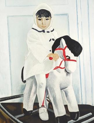 «Айдан» Таира Салахова продана на торгах Sotheby's в Лондоне Портрет дочери художника ушел за £269 т