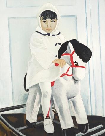 Таир Салахов. Айдан. Конец 1970-х. Холст, масло. Источник: sothebys.com