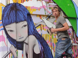 Live painting: стрит-арт в Москве