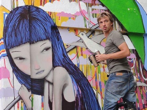 Уличный художник из Парижа Seth