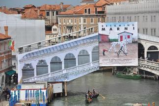 В Венеции началась реставрация моста Понте Риальто