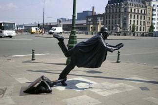 Шедевры на улицах Брюсселя