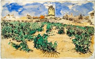 «Мельница Альфонса Доде» Ван Гога покажут впервые за 100 лет