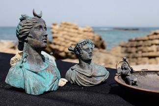 В Израиле дайверы обнаружили потерпевший крушение корабль 1600-летней давности