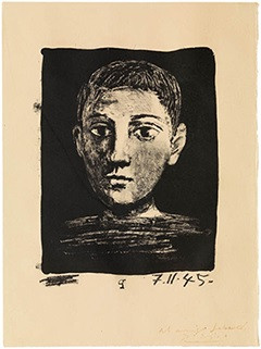 Пабло Пикассо, автопортрет  Изображение: Fundación Picasso, Museo Casa Natal
