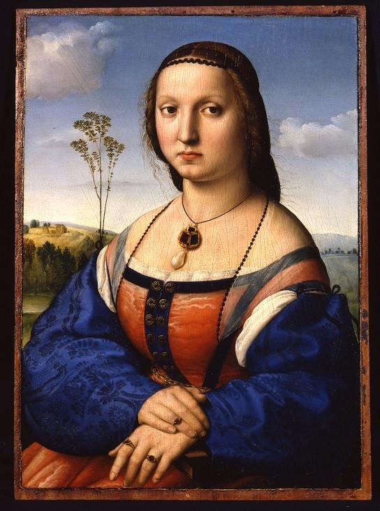 Рафаэль. Портрет Маддалены Строцци. 1505–1506. Палаццо Питти, Флоренция