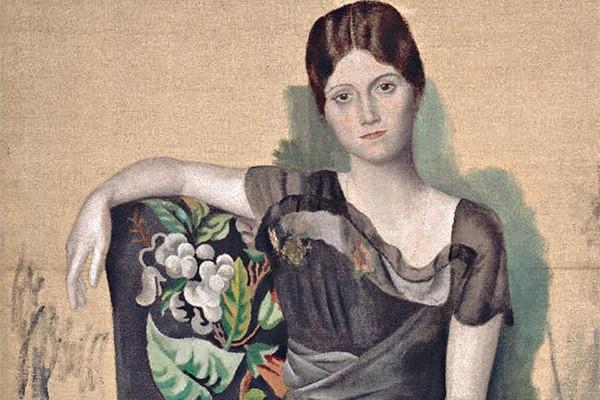 Портрет Ольги в кресле, 1917 год Изображение: Музей Пикассо, Париж