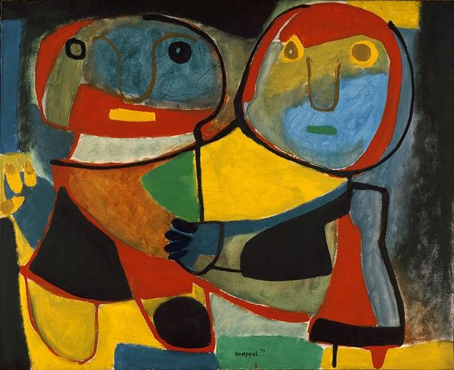 Karel Appel, Pair, 1951, Stedelijk Museum, Amsterdam. © Karel Appel Foundation/SABAM Belgium 2016