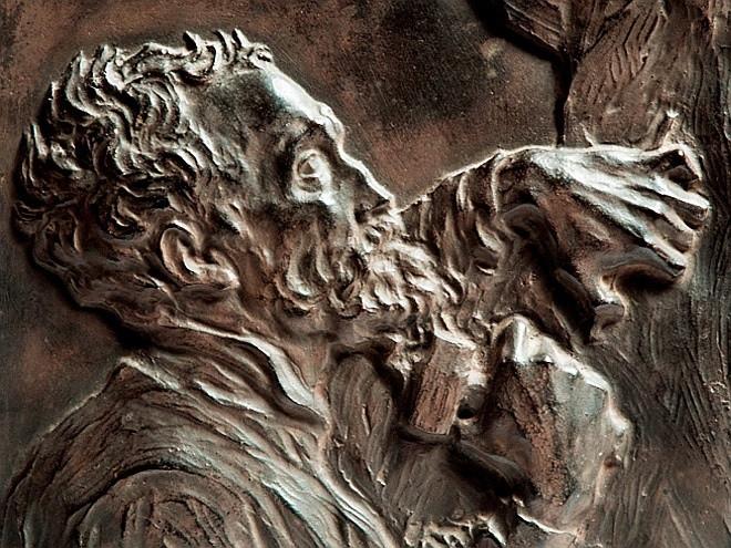 Владимир Домогацкий. «Микеланджело». 1935. Фото: Государственный Русский музей