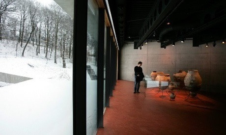 В Музее мировой культуры, Гетеборг. Фото: Бьёрн Ларссон Росвалль / TT