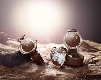 Счастливые часы: терракотовый авантюрин входит в часовую моду